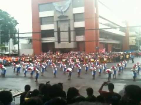 Only in Dinagyang Festival Opening Salvo 2013 - Tribu Buntatalan-on