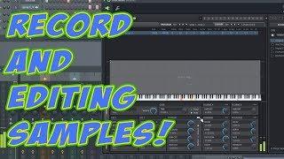 Recording And Editing Samples In FL Studio