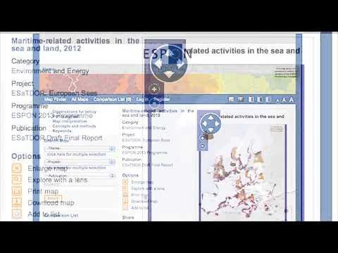 ESPON Tools - Online Map Finder