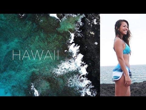 Big Island Hawaii's Perfect Beaches - Travel vLog