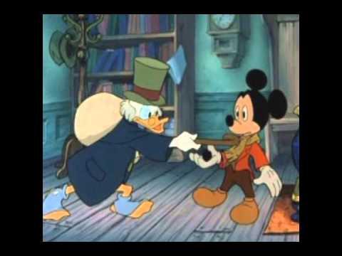 Christmas Carol Scrooge Mcduck.Mickey S Christmas Carol The Musical Part 1 Wmv