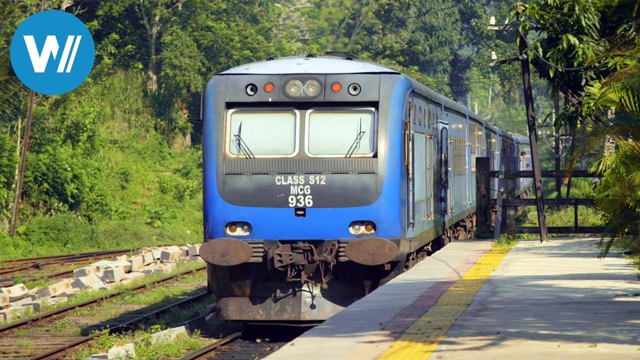 Mit dem Zug durch Sri Lanka - Unterwegs von Colombo nach Badulla