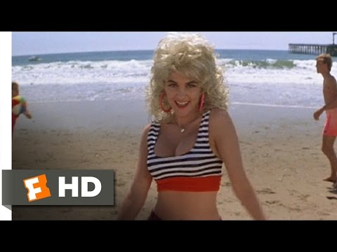 Earth Girls Are Easy (10/10) Movie CLIP - Cause I'm a Blonde (1988) HD