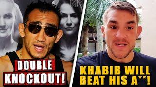 UFC Fighters PREDICT Khabib vs. Gaethje at UFC 254, Khamzat Chimaev vs Leon Edwards set for Dec. 19