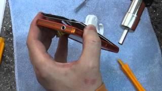 видео ремонт экрана sony xperia