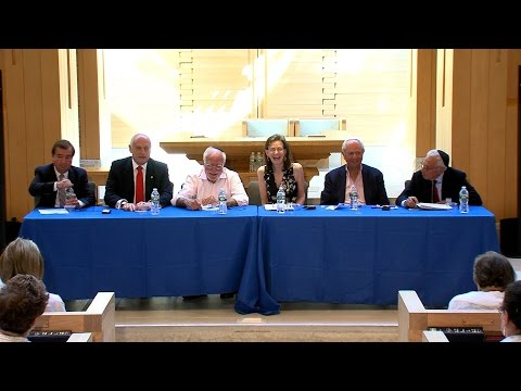 The Middle East Today - Panel (Jewish Center of the Hamptons)