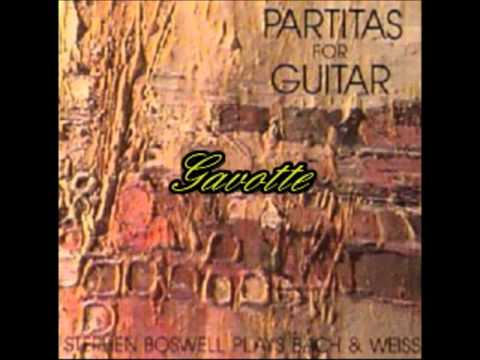 Partita No.7 by Sylvius Leopold Weiss - Stephen Boswell - Guitar