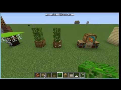 Minecraft Mobilya Yapımı
