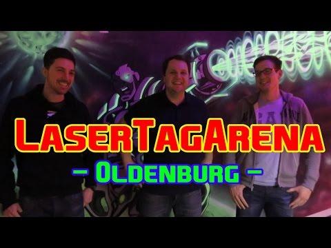 LaserTagArena [Oldenburg]   Voll LASER abgehen mit Timo, Markus & Basti