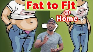 DAY-58 | Full Body Home Workout | No Gym Equipment Workouts | RD Fitness Unlimited | Challenge