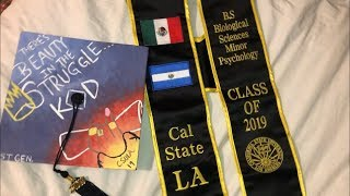 DIY GRADUATION CAP Decoration | KOD J.COLE Theme
