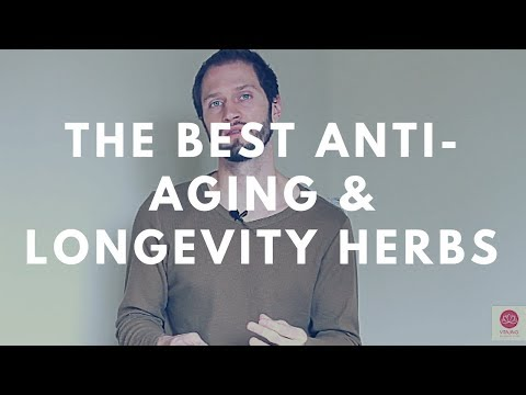 The Best Anti-Aging & Longevity Herbs