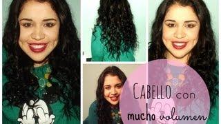Cómo conseguir un cabello con muuuucho volumen? Thumbnail