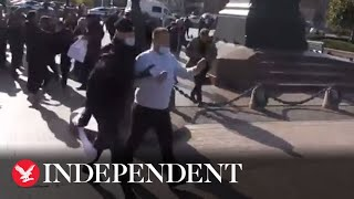 Russian elections: Protestors detained as they manifest in Moscow