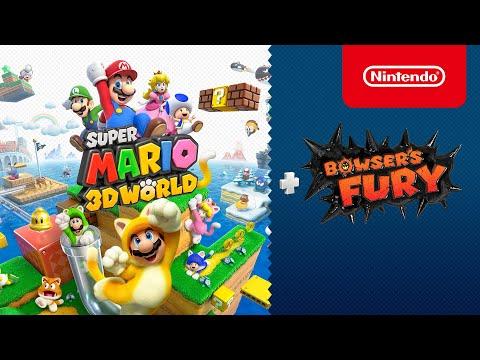 ¡Super Mario 3D World + Bowser's Fury llega a Nintendo Switch el 12 de febrero!