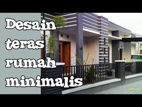 Model Desain Teras Rumah Minimalis Modern Terbaru Youtube