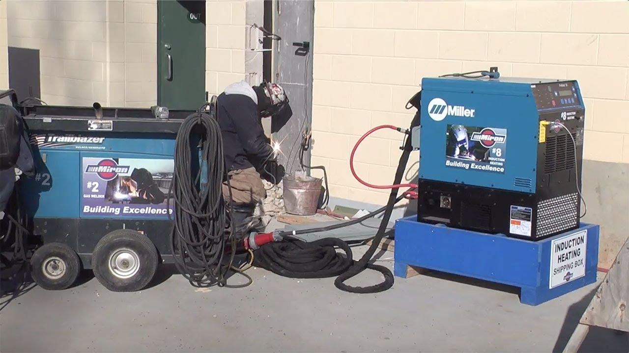 Welding Preheat Time Reduced in Lambeau Field Structural