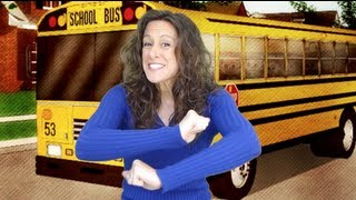 The Wheels on the Bus - Kids song (with Patty Shukla)