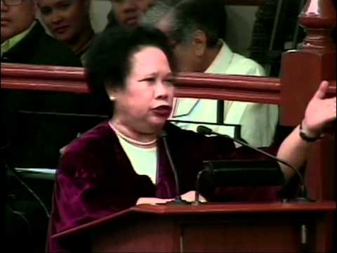 Sen. Miriam: Do not treat me as a mere observer
