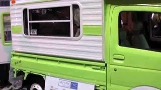 軽キャンパー DAIHATSU HIJET custom Mini Pop The microvan camper selection 2014 Osaka JAPAN