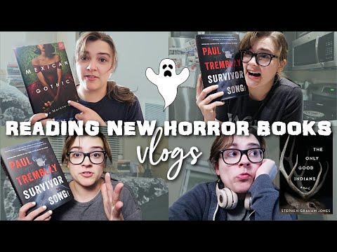Reading 3 NEW Horror Books || Reading Vlog 👻