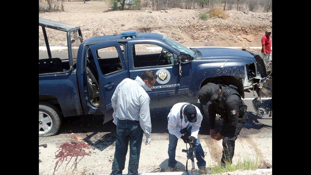 Sicarios Armados Emboscan A Polic 237 As En Sinaloa 2 Agentes