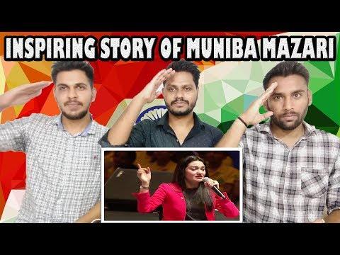 Indian Reaction On Pakistani Brave Girl Muniba Mazari | Inspiring Life Story- Motivational Video