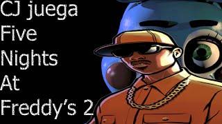 Loquendo GTA SA CJ juega Five Nights At Freddy's 2