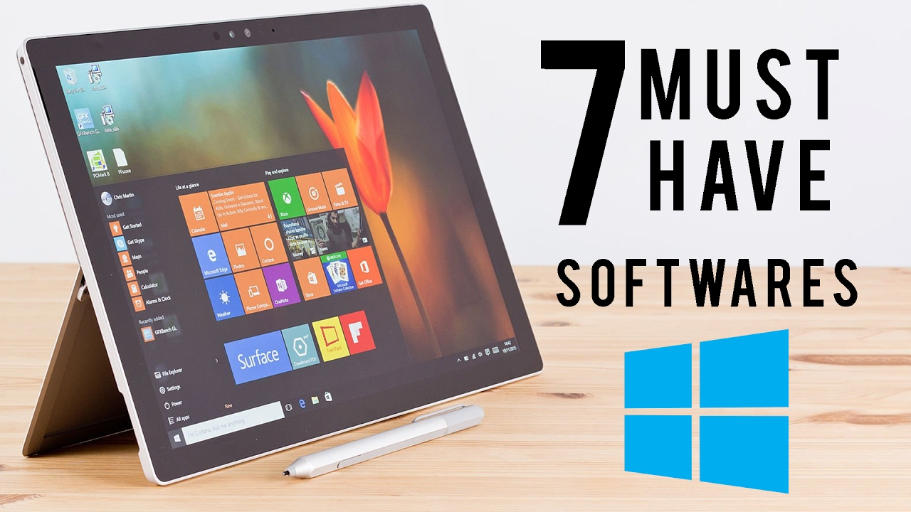 7 Must Have FREE Software's for Windows 10 PC/Laptop