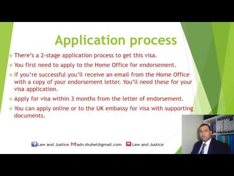 Tier 1 Exceptional Talent visa for the UK