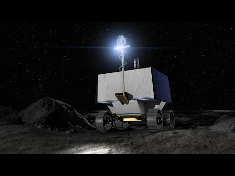 NASA Moon Rover Books Ride to the Moon