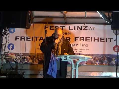 6 11 2020 ICH BIN FREI   Exorzismus am Hauptplatz in Linz   Satan weiche von der Erde im Namen Jesus