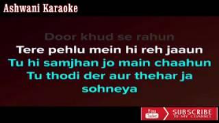 Thodi Der Half Girlfriend Karaoke with male voice