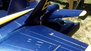 Maiden Flights of Banana Hobby F4 64mm EDF & FA18 70mm EDF RC Jets