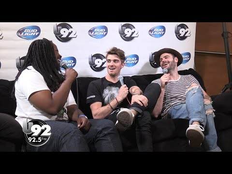 U92 U-Crew TV: The Chainsmokers Interview