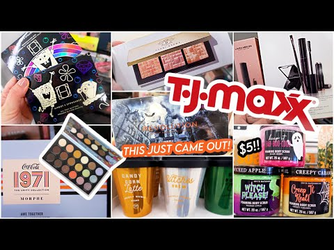 TJ MAXX IS AMAZING THIS WEEK! HIPDOT X SPONGEBOB, REVOLUTION HALLOWEEN, HOLIDAY BODY SCRUBS!