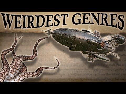 5 Weirdest Genres of Fiction — Weird Fiction Month