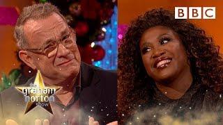Tom Hanks And Motsi Mabuse Scrutinise Strictly Scoring | Graham Norton Show - Bbc
