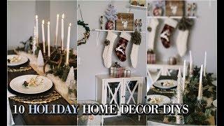 10 DIYS Home Decor HOLIDAYS 2017 Trendy & Cheap Decor