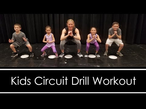 Kids Circuit: Drill Workout (FUN WORKOUT FOR KIDS AT HOME)