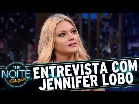 Entrevista com Jennifer Lobo | The Noite (04/07/17)