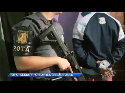 Traficantes são capturados em operação da ROTA