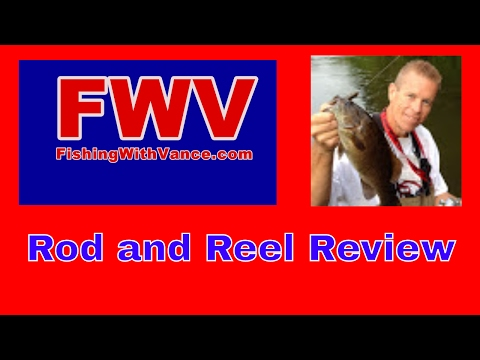 Shimano Reel And Fenwick Eagle Rod Review
