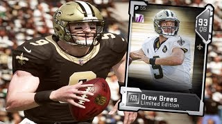DREW BREES CANT BE STOPPED | MADDEN 19 ULTIMATE TEAM GAMEPLAY