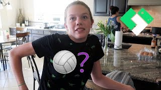 Did Sierra Make The School Volleyball Team? | Clintus.tv