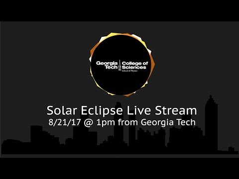 Solar Eclipse Livestream From The Georgia Tech Observatory