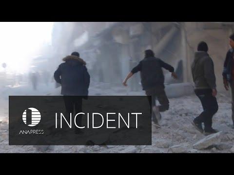 Russian Warfare Continues on Aleppo City