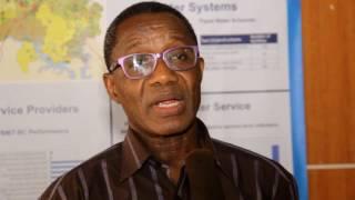 Benedict Kubabom on use of data - Water Forum 2016