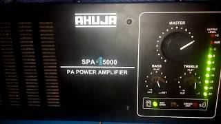 Ahuja SPA -15000 PA POWER AMPLIFIER unboxing