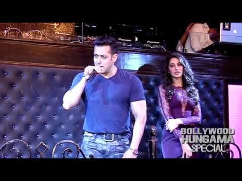 Salman Khan Sings Tu Hi Tu Song
